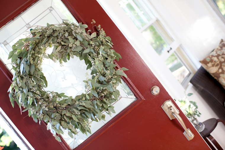 DIY Seeded Eucalyptus Wreath