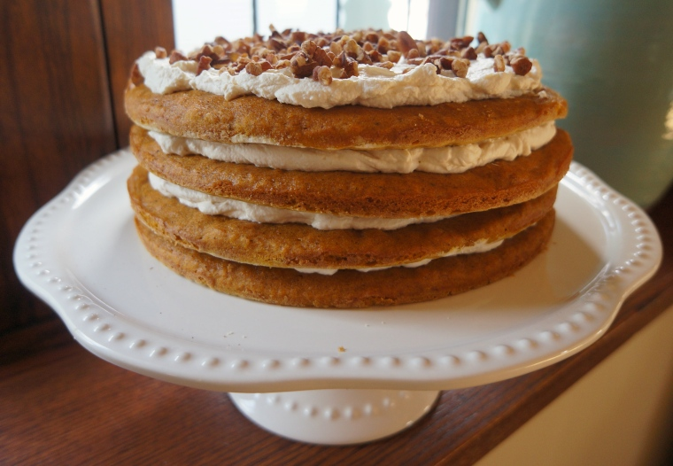 maple pumpkin stack cake