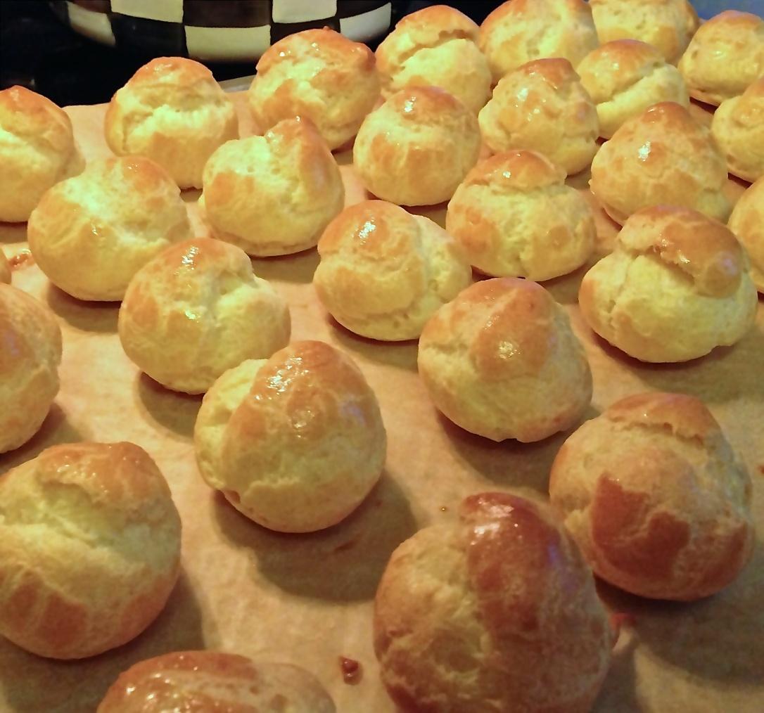Choux Pastry Profiterole