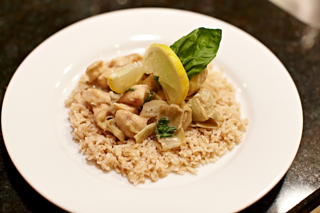 Lemon Basil Chicken Artichoke12
