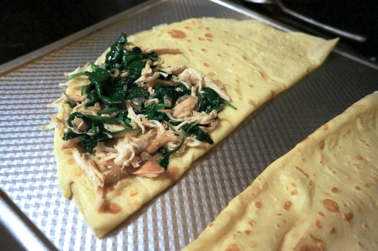 Filled Crepe Photo