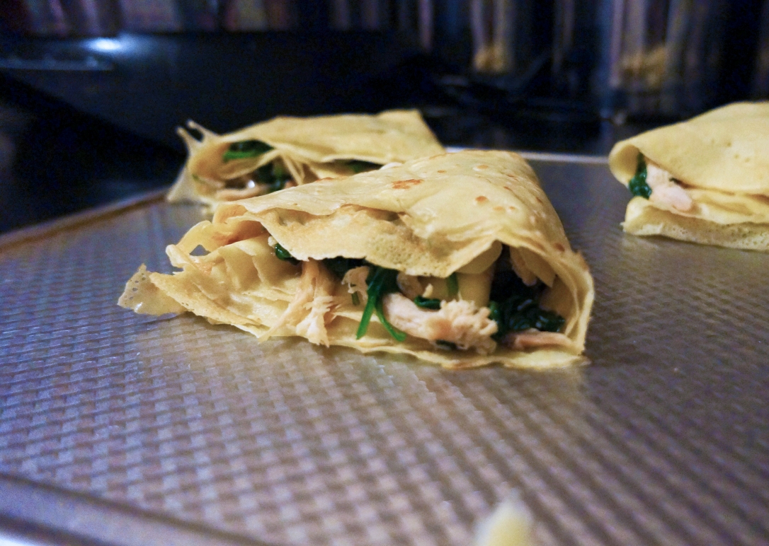 Folded Crepe