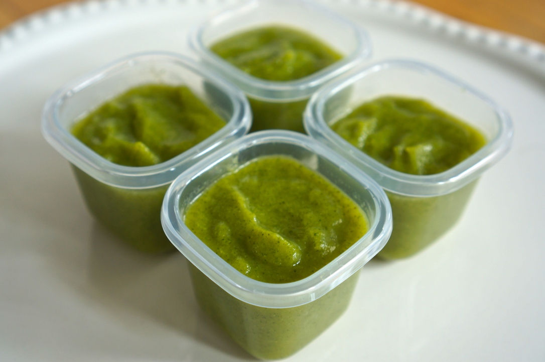 Beaba Babycook Pureed Zucchini