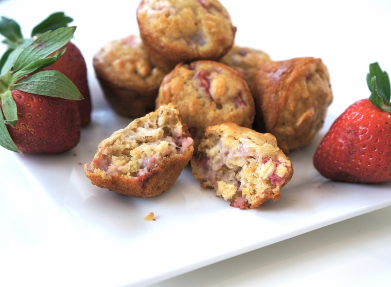 Berry Oat Buttermilk Toddler Muffins